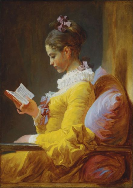 Fragonard, Jean-Honore. The Reader. Fine Art Print/Poster. Sizes: A4/A3/A2/A1 (00471)